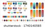 fashion color trend spring and...   Shutterstock .eps vector #1740140585