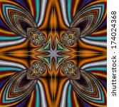 abstract ornament | Shutterstock . vector #174024368