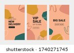 banner templates for blog and...   Shutterstock .eps vector #1740271745