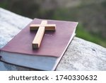 The Crucifix Is Placed In The...