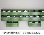 Wooden Mailbox On Condominium   ...