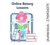 biology school subject online... | Shutterstock .eps vector #1740416375