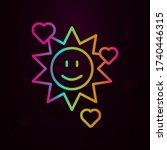 sun smile hearts nolan icon...