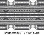 native american art illustration | Shutterstock .eps vector #174045686