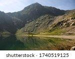 Glaslyn Lake With  Mount...