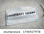 """Text """"conspiracy Theory"""" On A..."""