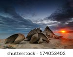 Sunset At Remarkable Rocks ...