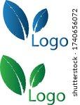 modern leaf logo design concept   Shutterstock .eps vector #1740656072