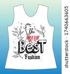 the dream best fashion  slogan...   Shutterstock .eps vector #1740663605