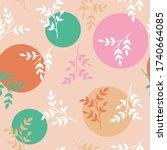 vector repeat seamless pattern...   Shutterstock .eps vector #1740664085