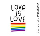 Love Is Love Statement Quote...