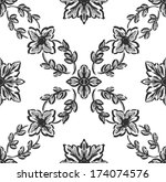 classical flower graphic for... | Shutterstock . vector #174074576