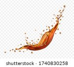 new realistic transparent... | Shutterstock .eps vector #1740830258