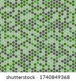 seamless vector pattern of... | Shutterstock .eps vector #1740849368
