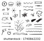 infographic elements on... | Shutterstock .eps vector #1740862232
