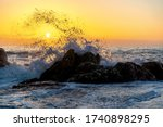 Waves Of The Atlantic Ocean...