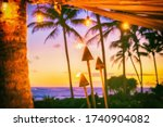 Hawaii Luau Party With Fire...