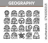 geography education collection... | Shutterstock .eps vector #1741020215