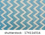 Pattern Of Blue And White...
