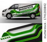 car sticker. development of car ... | Shutterstock .eps vector #1741203842