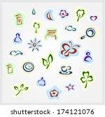 icons | Shutterstock .eps vector #174121076