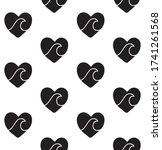 vector seamless pattern of...   Shutterstock .eps vector #1741261568