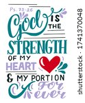Hand Lettering God Is The...