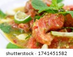 Spicy Salmon Salad With Herbs ...