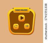 game paused ui kit   ui kits...