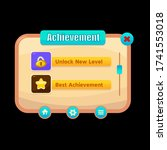 achievement ui kit   game ui...