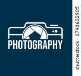 photography logo template for... | Shutterstock .eps vector #1741632905