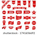 new arrival tags and stickers... | Shutterstock .eps vector #1741656692