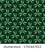 vector seamless pattern with... | Shutterstock .eps vector #1741667012