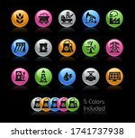 energy icons    the vector file ... | Shutterstock .eps vector #1741737938