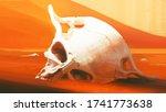 Extinction. Skull Of Humanoid...