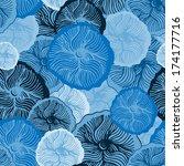 vector abstract seamless... | Shutterstock .eps vector #174177716