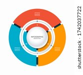 infographic circular chart...   Shutterstock .eps vector #1742037722