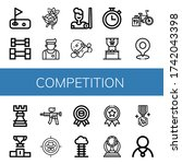 Set Of Competition Icons. Such...