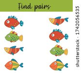 kids activity. find the same...   Shutterstock .eps vector #1742056535