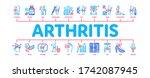 arthritis disease minimal...   Shutterstock .eps vector #1742087945