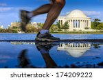 the jefferson memorial during... | Shutterstock . vector #174209222