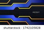 modern technology background...   Shutterstock .eps vector #1742105828