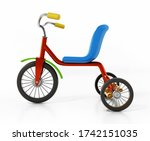 Child Bicycle Or Tricycle...