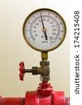 Water Pressure Meter Installed...