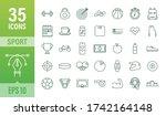 flat sport icon for web design. ...   Shutterstock .eps vector #1742164148