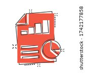 financial statement icon in...   Shutterstock .eps vector #1742177858