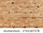 Overlapping Pine Wooden Planks...