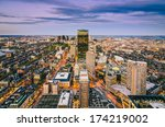 Boston, Massachusetts skyline - stock photo