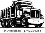 Dump Truck Vector Illustration...