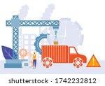 easy to edit vector... | Shutterstock .eps vector #1742232812